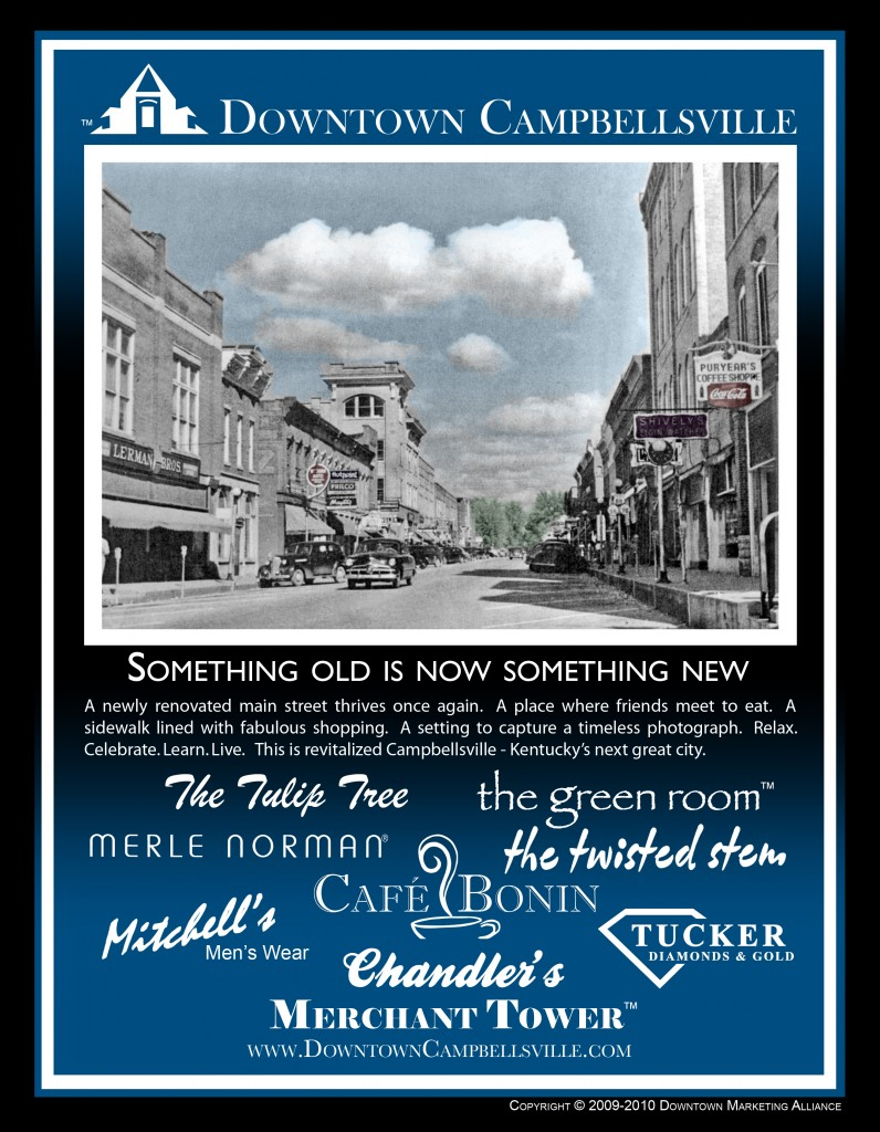 Discover Taylor County - Downtown Campbellsville