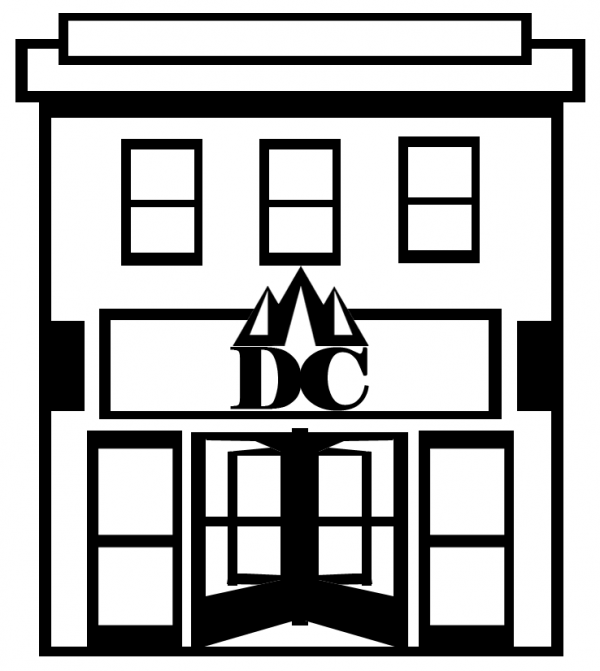 Downtown Campbellsville Building - sketch - logo